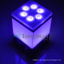 9 * 14W Rgbawuv 6in1 DMX drahtlose batteriebetriebene Lampen LED Innen