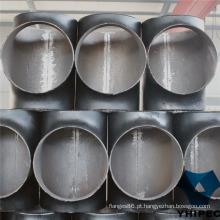 Encaixe de Tubulação CS Tee na Indústria de Gás e Petróleo