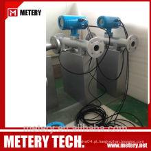 Medidor de fluxo de gasolina coriolis Metery Tech.China