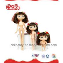 Lovely Children High Quality Toy Pink Plastic Dolls (CB-BD010-Y)