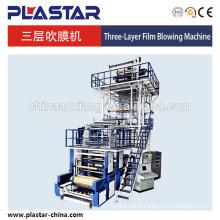 Machine soufflée de film de la co-extrusion PE de trois couches d'ABC
