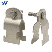 High Quality Galvanizing Stainless Steel Bolt Pipe Clamps SS304