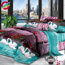 wholesale 100 percent polyester bright colors bedding fabric