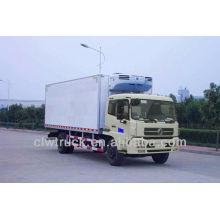 Dongfeng 12-15 тонн рефрижератор грузовик Ван в Саудовской Аравии