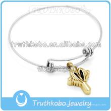 Bracelet de crémation en gros bracelet de fil réglable bracelet en gros bracelets de fil torsadé