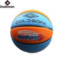 Guangzhou Oudeman YONO brand office size 7 custom basketball ball rubber basketball wholesale
