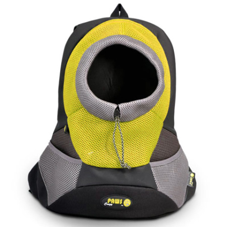 Yellow Pet Backpack