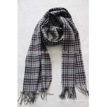 men's checked scarf