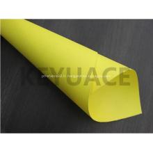Tissu d'isolation en fibre de verre enduit de caoutchouc de silicone