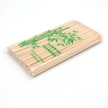 Manufacture Price BBQ Bamboo Kebab Skewer Round Sticks With Custom Logo