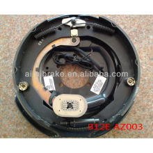 12 inch electrical trailer brake back plate