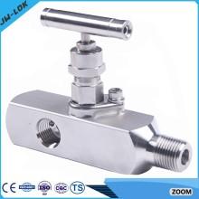 La plus haute valve à haute pression à haute pression SS et les distributeurs à deux soupapes en Chine