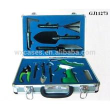 caixa de ferramentas de alumínio forte com espuma personalizado inserir dentro