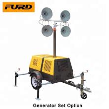 Mobile Diesel Generator Set Construction Light Tower (FZMT-1000B)