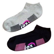 Hombres mujeres algodón antideslizante calcetines deportivos para trampolín (as-08)