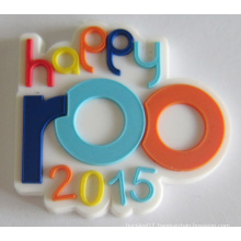 Custom Made Soft PVC Badge in Favourable Cost