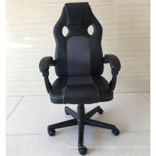 BIFMA Office Boss manager черное кожаное офисное кресло