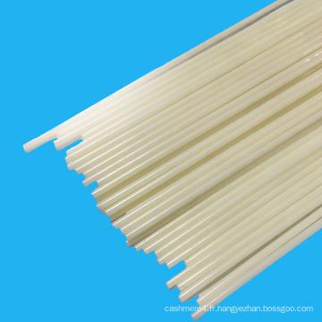 Rod en plastique flexible d'ABS de soudure de matière première