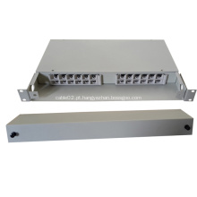 24 Fibras Fixed Type Cables Optical Distribution Box