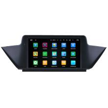 Hualingna 2 DIN HD tela de toque GPS OEM Carro DVD GPS para BMW E84 X1 Navegação