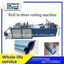Fabric Cutter Machine, Plastic Roll to Sheet Cutting Machine