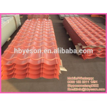 construction steel sheet / corrugation steel panel / painted roof panel