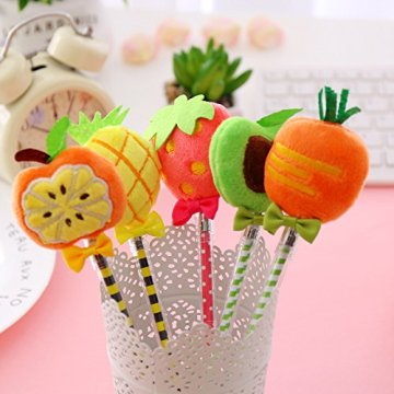 PLUSH FRUIT GEL PEN-0