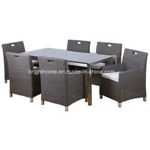 Leisure Outdoor Patio Rattan Modern Garden Furniture Chair Table