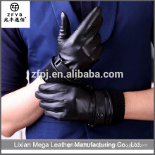Made in China Hot Sale men leather hand gloves in Europe