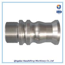 Pieza de mecanizado CNC hecha por precisión de metal y aluminio
