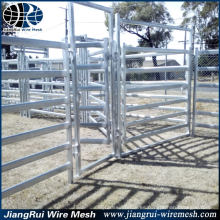 Panel de la cerca de la granja de acero galvanizado durable / paneles y puertas del ganado de ganado