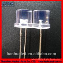 Os diodos do diodo emissor de luz do MERGULHO de 5mm conduziram grânulos da lâmpada