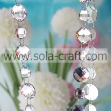 Online Sell 16MM & 22MM Nice Cheapest Bead Garland Strand For Chandelier Prisms & Centerpieces Wedding Tables & Christmas