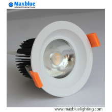 Hole 95mm CREE COB LED Ceiling Light with 10 23 Degree Lens