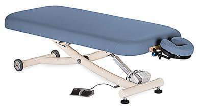 massage table lifting actuator