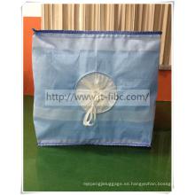 Bolsa de almacenamiento a granel cuadrada de una tonelada