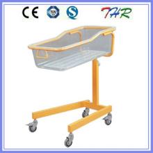 Lit en berceau pour bébé en tube d'acier coloré (THR-RB03)