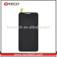 Montaje de pantalla LCD de repuesto con digitalizador de pantalla táctil para Alcatel One Touch Idol OT6037