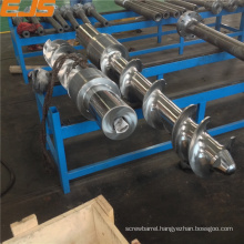 Zhoushan hardened alloy barrel and screw for rubber extruder