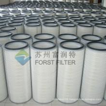 FORST Power Plant Application Donaldson Turbine Cartridge Filter Construction                                                                         Quality Choice