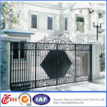 Portão de guarda de ferro forjado elegante qualidade Hight