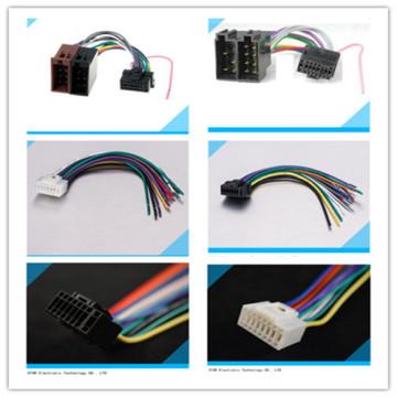 Hohe Qualität von 16 Pin Pioneer Auto Auto Audio Radio Stereo ISO Anschluss Kabelbaum für Alphine