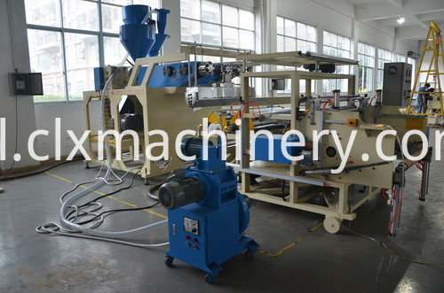Clear Lldpe Wrapping Film Machine