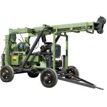 XYX-3 Full hydraulic wheel trailer water well drilling rig