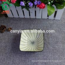 Tazón de la cerámica de la porcelana del OEM