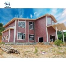 foshan customizable galvanized house / villa structureof steel  profiles