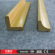 PVC Wooden Look Extruding Foam Architectural Foam Shapes