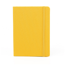 Wholesale custom Logo Hard Cover Journal Recycled Paper Planner Writing Blank Fabric Cover Notebook