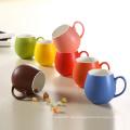 Bunte Verglasungs-Design-Porzellan-runde Schalen-Keramik-Becher