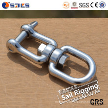 Rigging Hardware Stainless Steel Eye and Jaw Chain Swivels